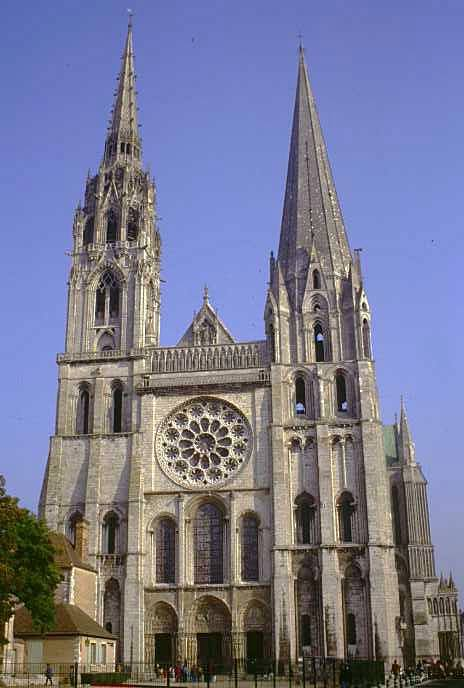 UNESCO World Heritage site Cathedral of Our Lady of Chartres