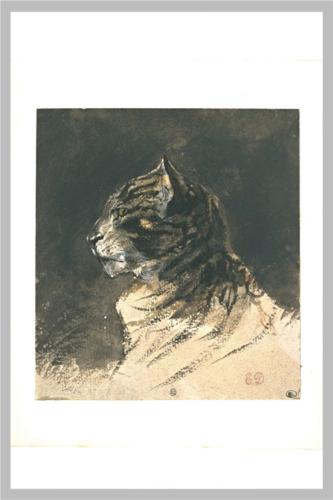 Delacroix-Cat-head