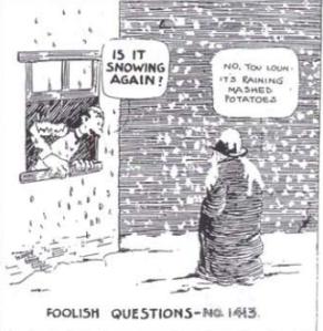 RUBE FOOLISH QUESTIONS