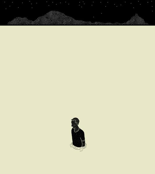Alone Josh Lane Print