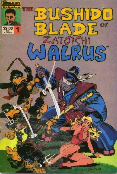 Solson Publications Bushido Blade Zatoichi Walrus