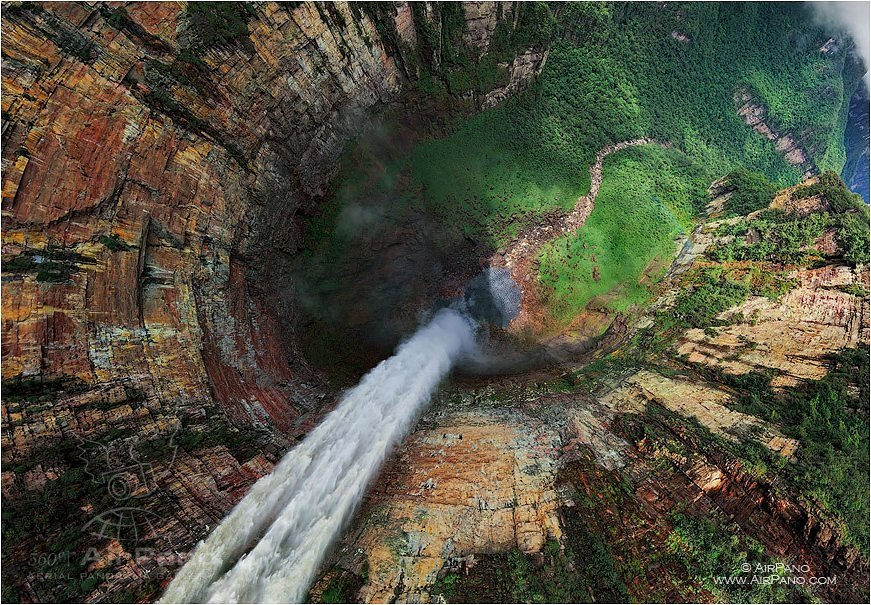 airpano_dragon_fall_venezuela