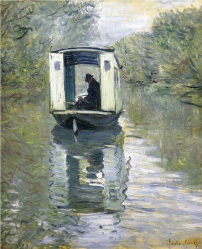 claude monet-the-boat-studio-1876