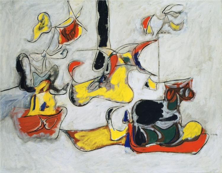 arshile-gorky-garden-in-sochi-winter-olympics-2014-abstract-art-painting
