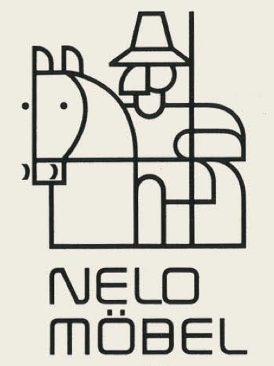 Nelo Möbel - Germany vintage logotype