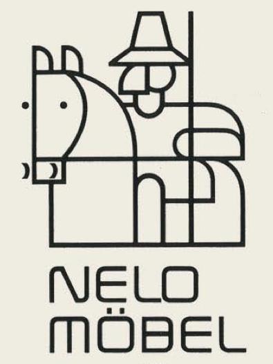 Nelo Möbel - Germany vintage logotype