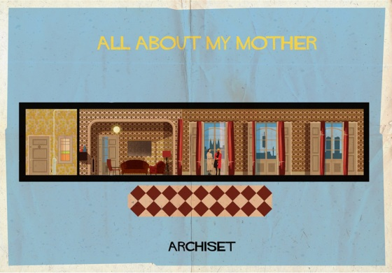 federico babina all about my mother archiset illustration