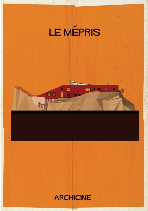 federico babina archicine contempt le mepris illustration