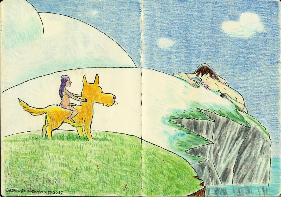 gregory benton b+f comic adhouse colorful magical editions ca et la