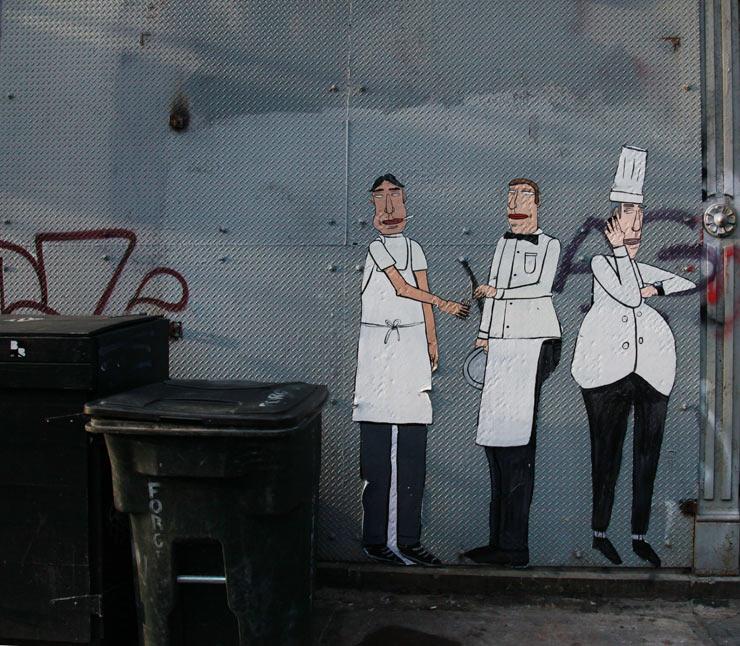 dont fret chicago street art back of house restaurant smokers