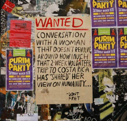 dont fret wanted woman street art chicago