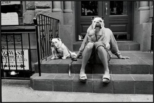 elliott erwitt life reporting decisive moment woman dog new york city 2000