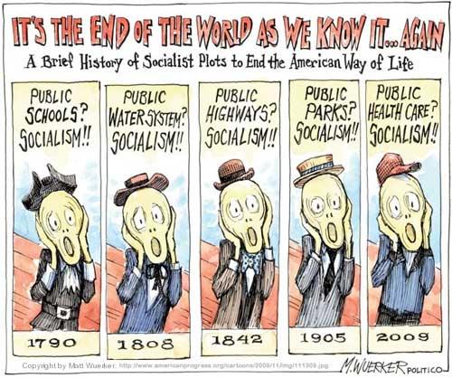 matt wuerker politico end of the world socialism