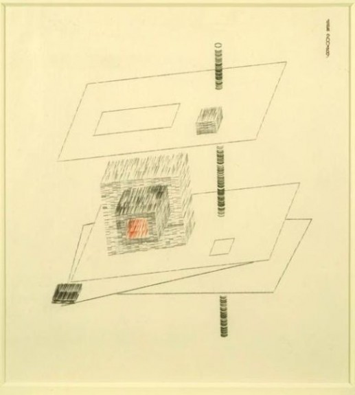 dom sylvester houedard typestracts 1969 untitled benedictine concrete poetry