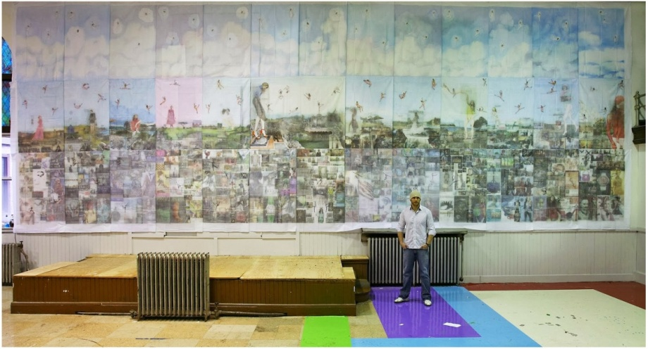 jesse krimes incarcerated artist prison 39 panel mural philadelphia Apokaluptein: 16389067