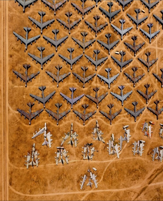 alex maclean bombers desert aerial photography
