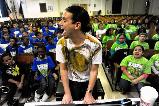 ps22 gregg breinburg staten island new york kids sing pop songs