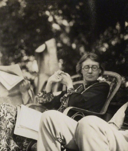 NPG Ax142604; Virginia Woolf (nÈe Stephen) by Lady Ottoline Morrell