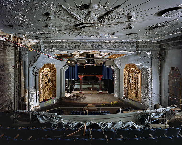 yves marchand romain meffre uptown theater philadelphia PA ruins photography