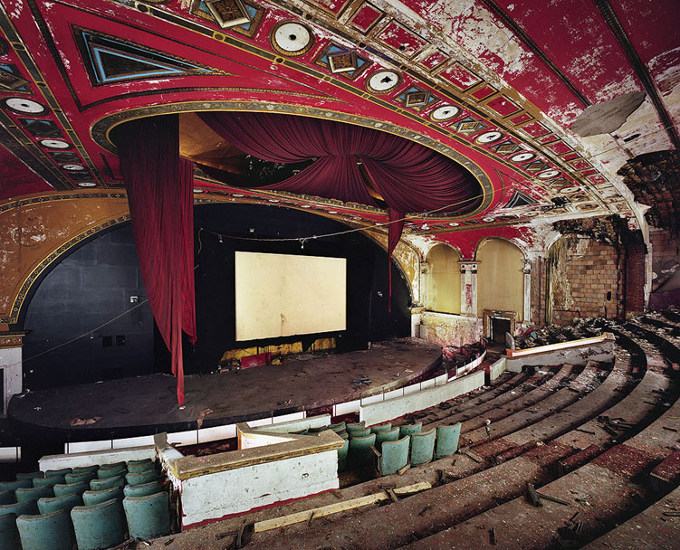 yves marchand romain meffre fabian theater paterson NJ ruins photography