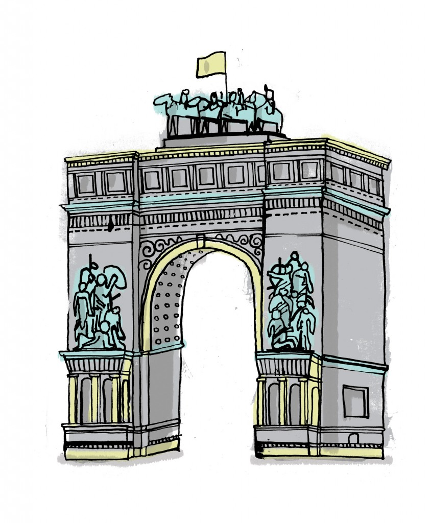 allthebuildingsinnewyork james gulliver hancock drawing grand army plaza new york