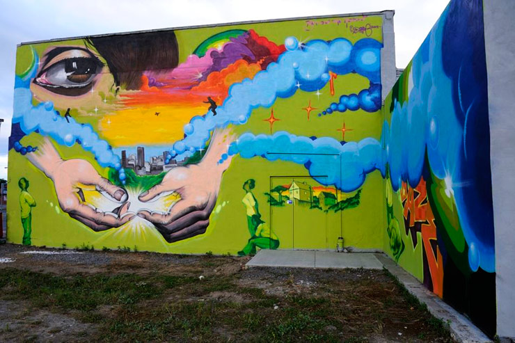 daze wall therapy rochester ny street art mural