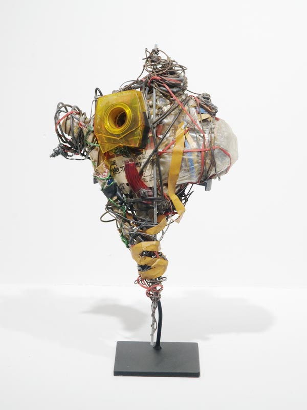 philadelphia wireman fleisher/ollman gallery outsider wire sculpture
