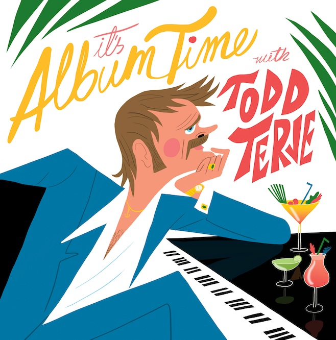 todd terje it's album time LP cover electronic dance house 2014