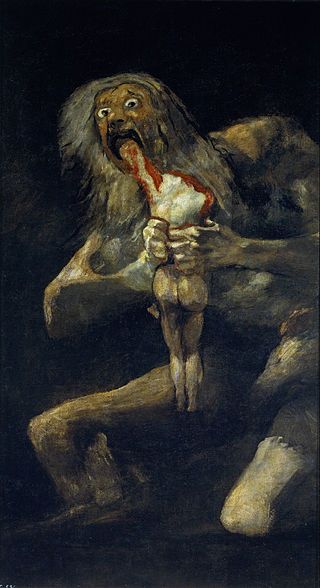 francisco goya saturn devouring his son 1819 black paintings spain old masters