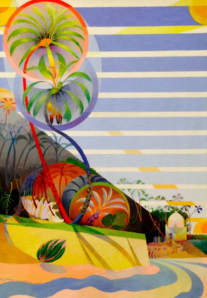 henry valensi mariage des pamliers bou-saada 1921 painting oil musicalism france french modern