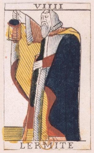 tarot l'ermite hermit VIIII 9 alone apart art writer unconscious symbol sign archetype myth